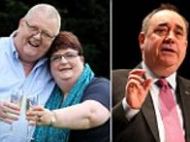 lottery winners colin and chris weir are bankrolling scottish independence yes campaign