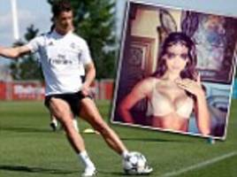 Happy Easter for Cristiano Ronaldo as Real Madrid star returns to action ahead of Bayern Munich clash... and girlfriend Irina Shayk sizzles in bunny outfit