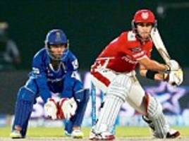 Maxwell does it again for Kings XI: Another blitz sets up chase against Royals before Miller guides team home