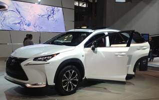 Lexus NX Makes Surprise Debut at New York Auto Show Today
